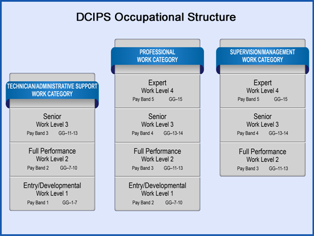 Dcips Occupational Structure